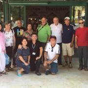 Peregrinos del Grupo del Padre Asencio Quesada de Cali, Colombia