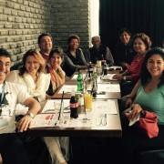 Grupo con Nestor Feller guá turístico