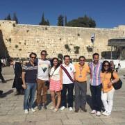 Grupo de México de vacaciones en Israel