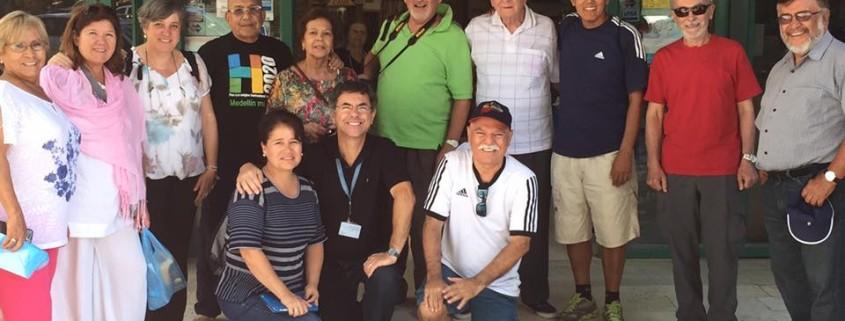 Grupo en Jericó con Nestor