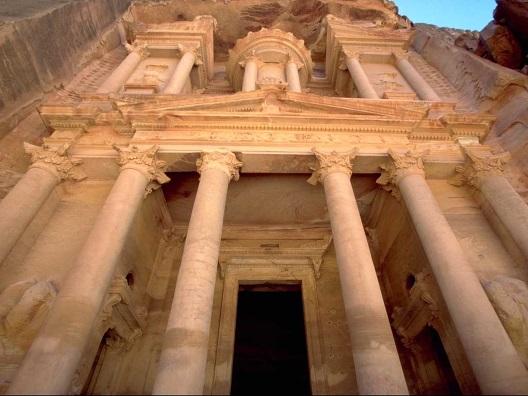 Monumentos en Petra
