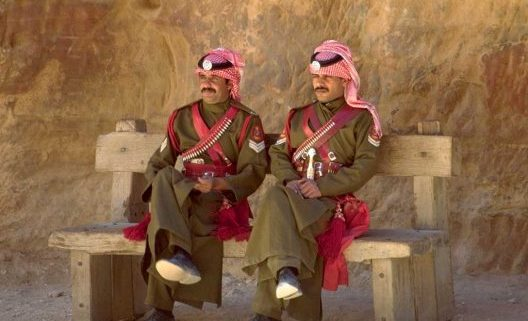 Policias Jordanos en Petra