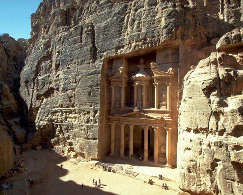 el Tesoro en Petra