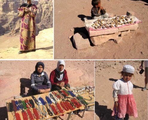 La gente de Petra