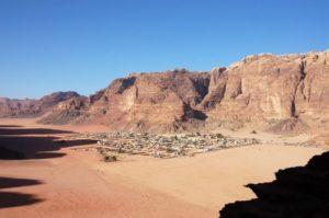 wadi-ram desde las alturas