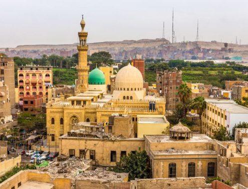 la mezquita de sayed en alejandria