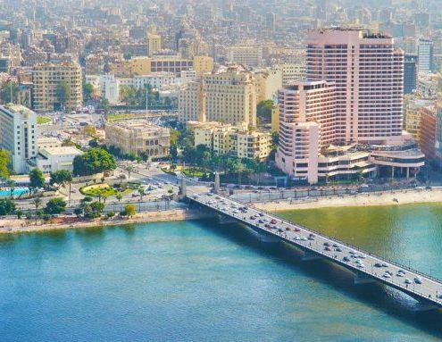 Puente sobre el nilo Egipto