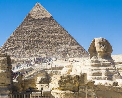 piramides y esfinge
